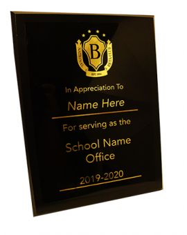 Officer Plaque
