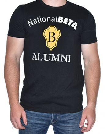 Black Alumni Short Sleeve Tee