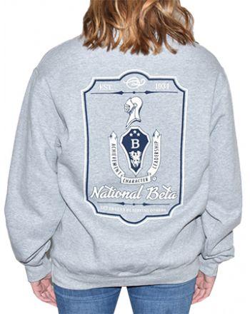 Crest Motto Sweatshirt