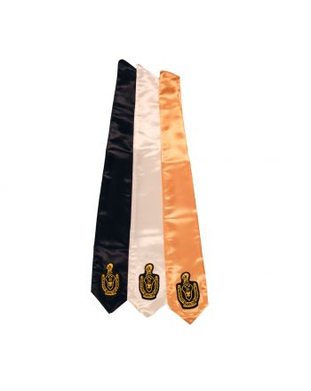 Senior Patch Drape Stole - Classic