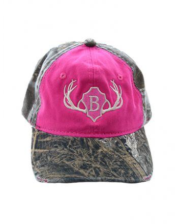 Pink Camo Cap