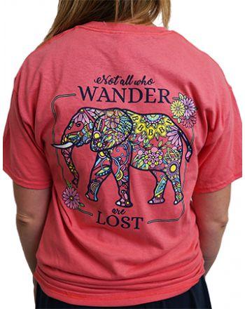 Pink Elephant tee